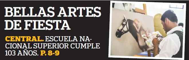 BELLAS ARTES DE FIESTA POR ANIVERSARIO N° 103